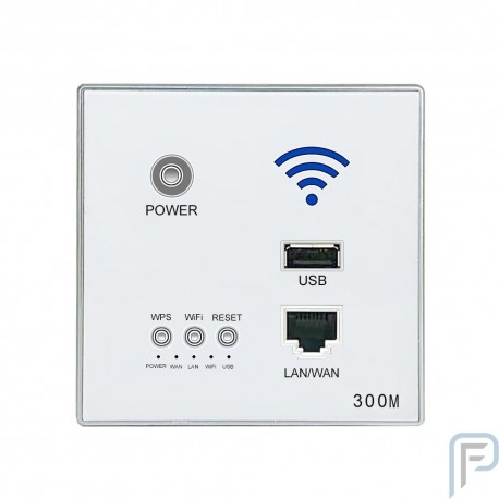 300M Smart Wall WIFI AP Router USB Charger Socket Outlet