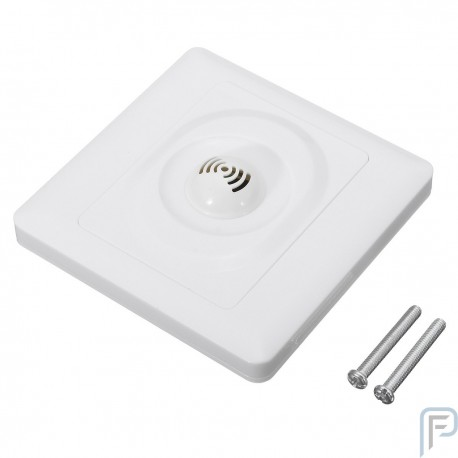 Wall Mount Voice Light Sensor Switch Sound & Light Controlled Delay Switch 250V