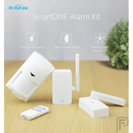 BroadLink S1C Alarm Kit SmartOne Door Motion PIR Sensor Smart Home System Remote Control