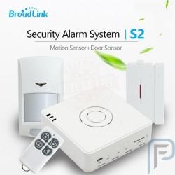 Broadlink S2 Hub Kit 2017 Security Alarm Detector Motion & Door Sensor Remote Control For Home Automation