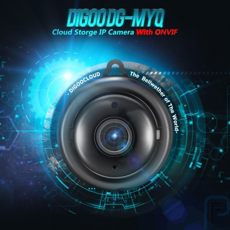 Digoo DG-MYQ Cloud Storage 720P WIFI Night Vision Smart Home Security IP Camera Monitor