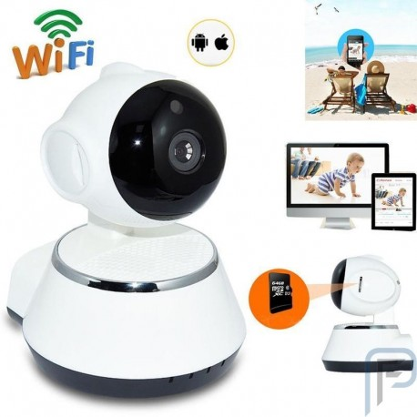 Smart WiFi 720P IP Camera Home Security System