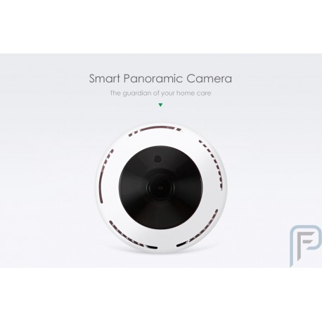 MF-IQ03-MH-720P Smart Panoramic IP Security Camera - WHITE